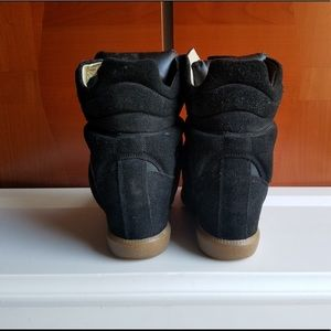 Isabel Marant Shoes - ISABEL MARANT BECKETT WEDGE SNEAKERS